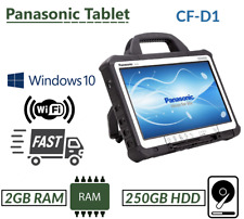 "PANASONIC TOUGHBOOK 13.3"" CF-D1 INTEL 847 ENGINEERS' XENTRY TAB 2GB 250GB WIN 7"