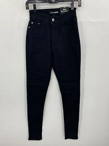 Fashion Nova Womens 3 Coraline High Rise Jeans in Black