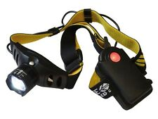 220 Lumen Super Bright LED Head Lamp 3 watt -Batteries at back no front weight