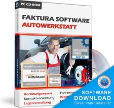 Werkstatt Rechnungsprogramm,Software Programm Kfz Branche,Pkw,Lkw,Krad Reparatur