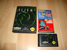 ALIEN 3 T-81096 BY ARENA ENTERTAINMENT FOR SEGA GENESIS USED COMPLETE