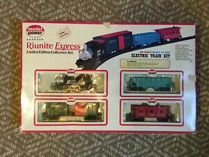 Vintage HO Scale MODEL POWER Riunite Express Train Set #1024 Read description