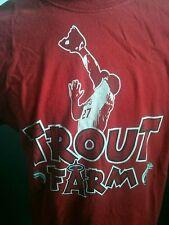 Mike Trout Los Angeles Angels Trout Farm SGA T-shirt. MLB
