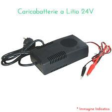 CARICABATTERIE LITIO LI-ION/Li-POLY 24VOLT 2 AMP