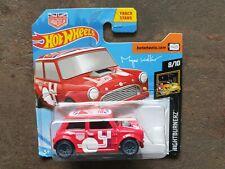 Hot Wheels 1/64 NIGHTBURNERZ Morris Mini Magnus Walker Urban Outlaw Red