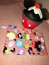 Disney Mickey Mouse Bag and Notebook