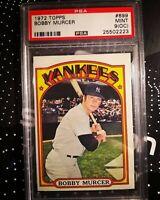1972 Topps Bobby Murcer #699 **PSA 9** New York Yankees
