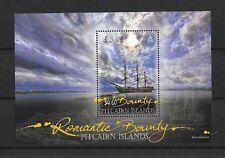 Pitcairn Islands 2012 Romantic Bounty M/S  MNHUMM