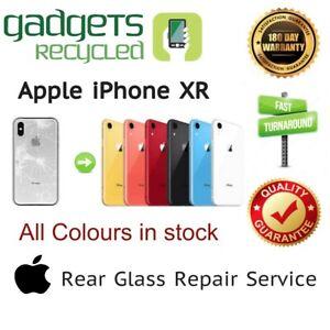 iPhone XR Rear Glass Replacement Repair Service - Same Day Repair & Return