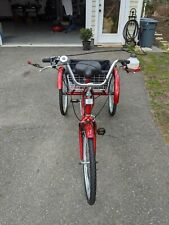 EOSAGA Adult Tricycles 7 Speed, Adult Trikes 24 inch, Three-Wheel with basket