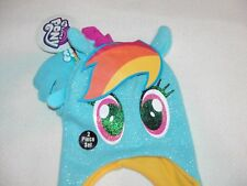 MY LITTLE PONY FRIENDSHIP IS MAGIC STOCKING HAT AND GLOVER