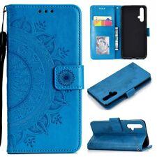 Huawei nova 5T Handy Hülle Tasche Flip Case Schutzhülle Book Cover Mandala