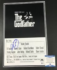 AL PACINO THE GODFATHER SIGNED 12X18 PHOTO AUTHENTIC AUTOGRAPH BECKETT BAS COA