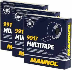 3x SCT Self-Amalgamating Repair Tape 15m Rubber Waterproof Sealing Insulation