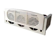 """Refrigerador de bahía PC/HDD 5.25"""" con 2 ventiladores x40mm. con convertidor de 5.25"""" a 3.5"""".HDF-2"""
