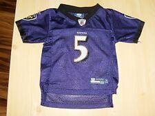 Flacco #5 Reebok Baltimore Ravens Jersey NFL Fan Sz 18 Month