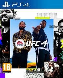 EA Sports UFC 4 (PlayStation 4, 2020) PS4