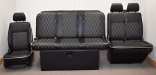 STREAMLINE FULL WIDTH M1 ROCK N ROLL BED + VW T5 FRONT SEAT UPHOLSTERY (401D-DD)