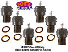 K&B 7310 LONG REACH HEAVY DUTY GLOW PLUGS for Model Engines QTY of 6