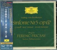 Beethoven Symphonies No.5 & 7 Ferenc Fricsay Japan SACD w/OBI NEW/SEALED