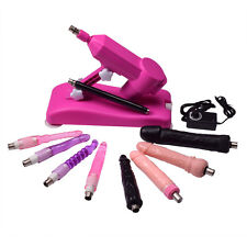 Sex Machine Fully Loaded Version With-Dildos and Extender - FREE Fast Shipping
