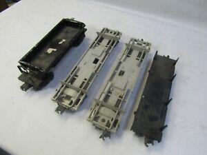 LIONEL POSTWAR OPERATING CARS FOR REPAIR 3469, 3461, 3361(2)  O GA 3 RAIL