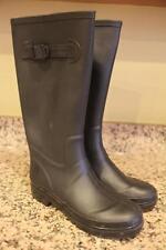 MARC BY MARC JACOBS Women's Black Tall Rain boots Size 38 (bota1400