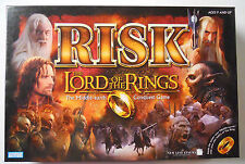 2002 Parker Brothers Risk The Lord of the Rings Edition-Complete