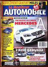 Le moniteur Automobile 3/10/2012; Essai Classe A/ Audi A8 Hybrid face Infini, Me