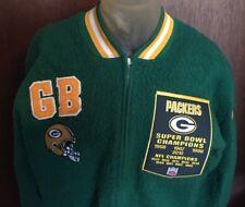 Vtg Green Bay Packers Custom Super Bowl Champions Jacket Men's Large L Champion