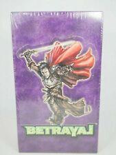 Warlord Saga Of The Storm Betrayal Booster Box 48 Packs Factory Sealed