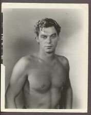 Johnny Weissmuller By George Hurrell Barechested Tarzan Portrait Photo J5159