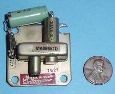 HIGH POWER X-BAND 100MW CAVITY GUNN OSCILLATOR MA86651D by MACOM-10.525GHz