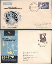 Australia, 1957-65. First Flight Covers (4), Various
