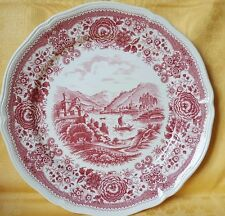 Platte Große Teller Villeroy & Boch BURGENLAND  in Rosa Ø 27 cm