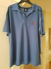 Men's Blue le coq sportif Polo Neck Top, Short Sleeves, Size M, Good Condition