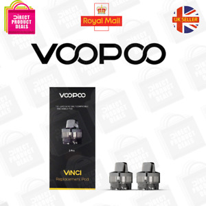 VOOPOO Replacement Pod for the Voopoo Vinci | 2pcs | UK Seller