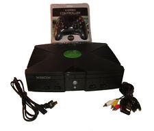 Original Xbox System Console Bundle Microsoft w/ New Controller *Fast Shipping*