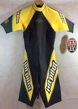 Jetpilot Womens Size Small Shorty Wetsuit Black Yellow Green 23MM Equipped NOS