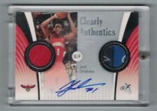 JOSH CHILDRESS 2006-07 Fleer EX LOGO TAG PATCH AUTO #6/10 Clearly Authentics SP