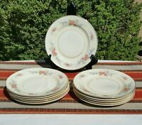 """VintageHomer Laughlin Eggshell Georgian 7"""" Salad Plate. Lovely and light."""