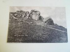 Rare Old Postcard COW & CALF ROCKS, ILKLEY Franked & Stamped 1904