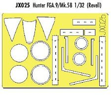 Eduard 1/32 Hunter FGA.9/Mk.58 paint mask # JX025