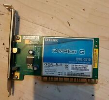 Carte Wifi PCI Airplus G D-Link DWL-G510 54 Mbps 2,4 Ghz