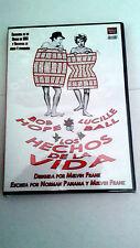 """DVD """"LOS HECHOS DE LA VIDA"""" MELVIN FRANK BOB HOPE LUCILLE BALL"""