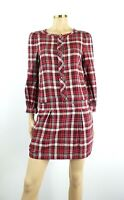 Juicy Couture Cotton Plaid Shirt Dress