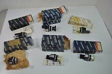 Lot of 9 Honeywell Micro Switch Push Button Switches - PMS PMP PMHD PMHC PMHG