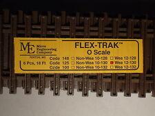 O-SCALE MICRO-ENGINEERING #12-130 FLEX-TRACK CODE 125 WEATHERED