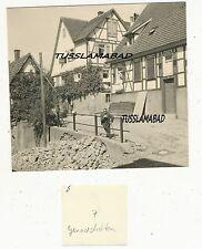Remstal Geradstetten alte Häuser Stadt siehe Foto Ansicht Nachkrieg um 1953