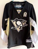Throwback #71 Evgeni Malkin Pittsburgh Hockey Jersey Youth L/XL